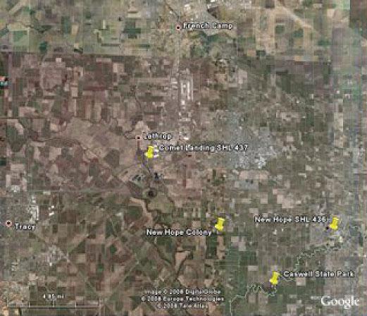 New Hope Google Map