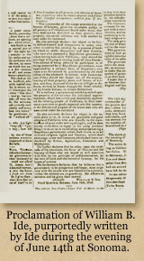 Ide's Proclamation